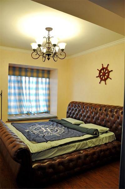 地中海风格卧室室内软装搭配效果图