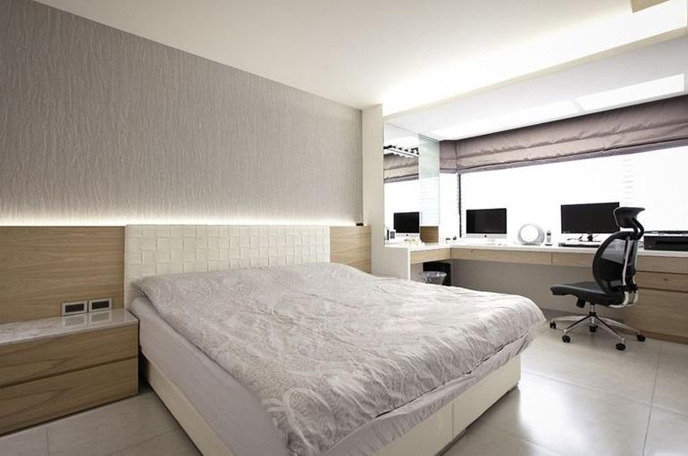 时尚前卫现代简约室内卧室装修效果图