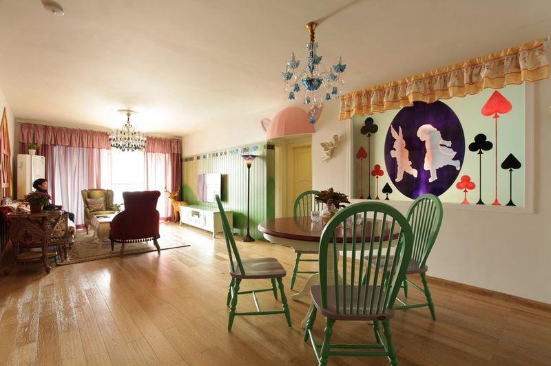 自然悠闲田园风格家居餐厅设计效果图片