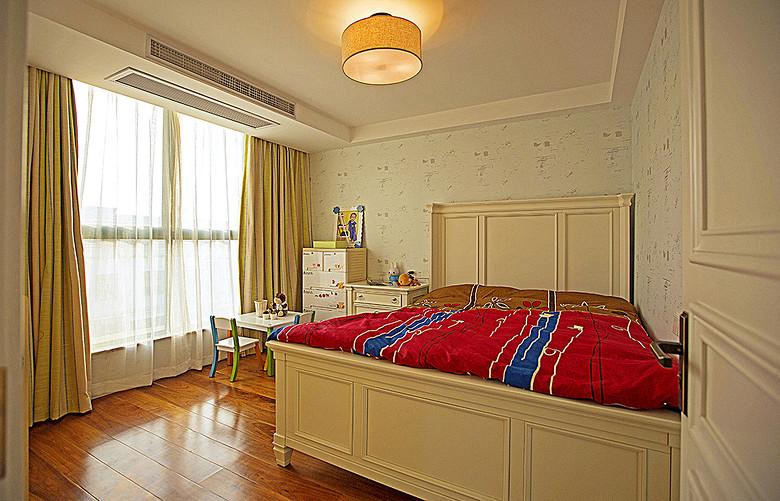 舒适简约美式儿童房效果图