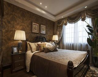 温馨古典豪华欧式卧室设计装潢效果图