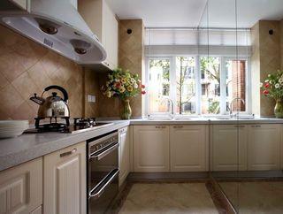 复古北欧设计厨房装修效果图片