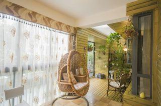 动感娱乐现代顶楼室内休闲区整体设计效果图