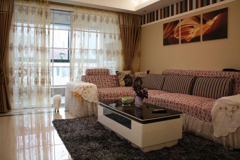 简约现代风格三居室室内装潢设计欣赏图