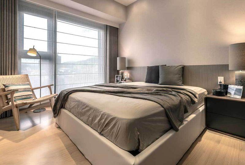 后现代简约卧室设计装饰效果图
