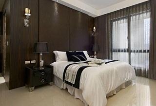舒适简约现代公寓卧室装饰效果图
