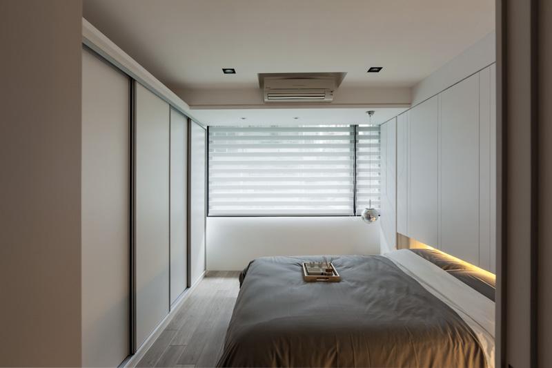 简约现代风格卧室设计装潢效果图