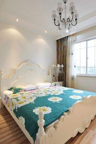 唯美优雅欧式风格三居室设计效果图