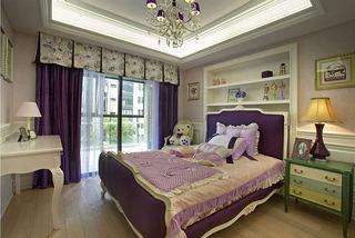 色彩明亮混搭欧式三居儿童房装饰效果图