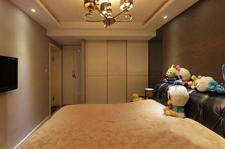 现代简约卧室白色衣柜效果图