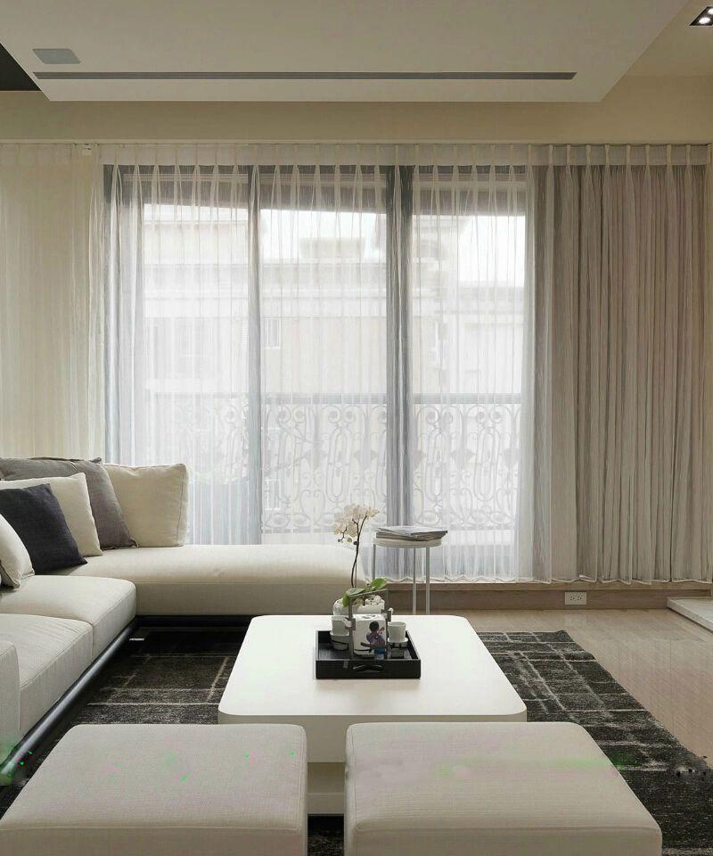 10万精造104平现代简约三居室内设计效果图