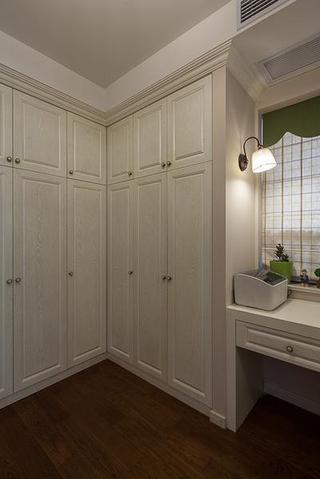 简约欧式白色衣柜图片