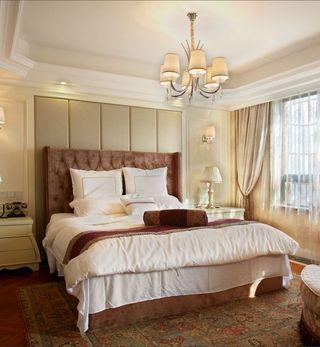 高雅和谐新古典复式卧室装饰案例图