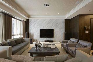 明朗舒适现代简约公寓室内设计装饰效果图
