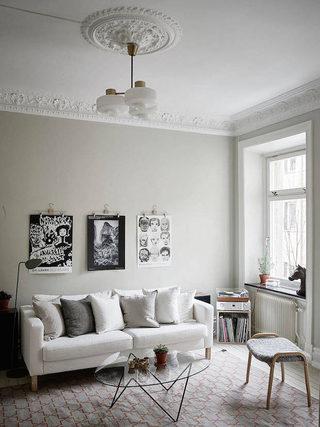 时尚北欧小户型室内装修效果图