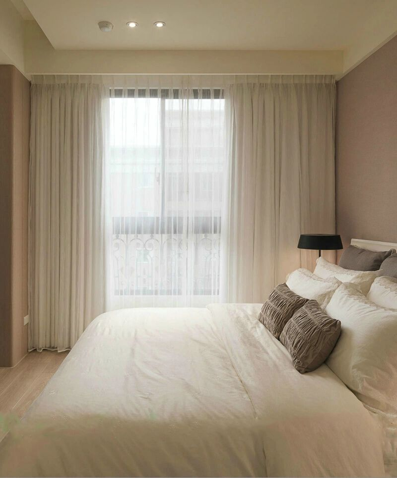 现代简约三居室卧室室内装饰效果图