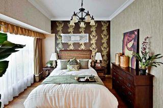 抽象艺术欧式装修风格卧室背景墙图