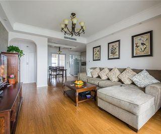质朴简约美式风格三室一厅设计装潢案例图