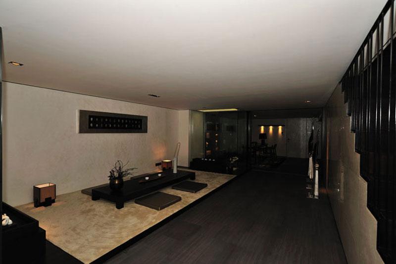 新中式别墅榻榻米设计装潢效果图