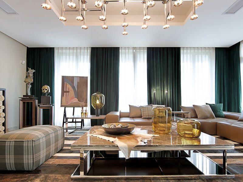 现代时尚设计公寓&别墅装潢案例图