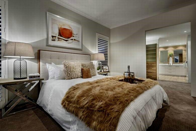 奢华大气后现代卧室效果图