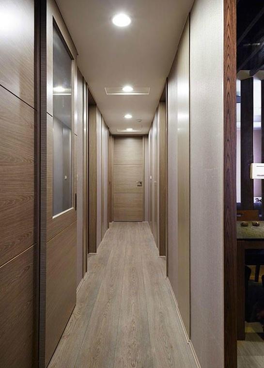简约风格两室两厅室内过道设计装潢效果图