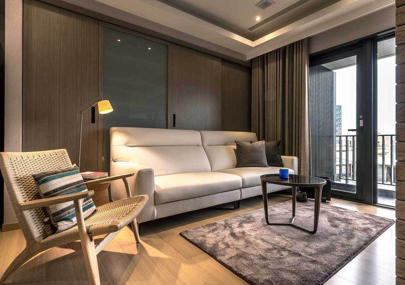 55平现代简约小客厅设计欣赏图