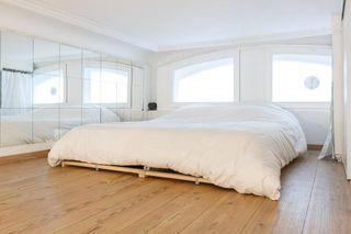 简约日式宜家风卧室窗户效果图