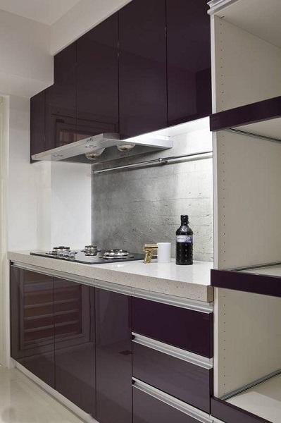 时尚现代简约小二居厨房装饰效果图