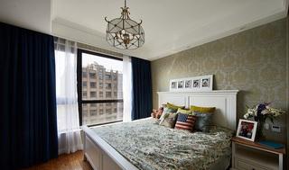 新古典风格卧室欧式墙纸效果图