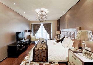 简洁时尚现代风格家装卧室案例图