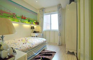 清新简约风格儿童房设计装饰效果图