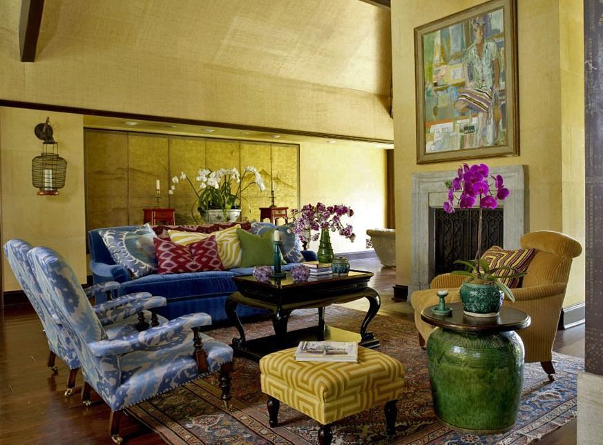 东南亚美式混搭风格别墅室内设计装修图片