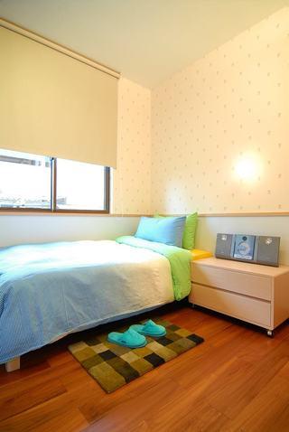 明亮清新现代小儿童房设计效果图