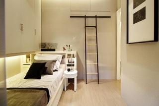 现代简约风格设计儿童房衣柜案例图片