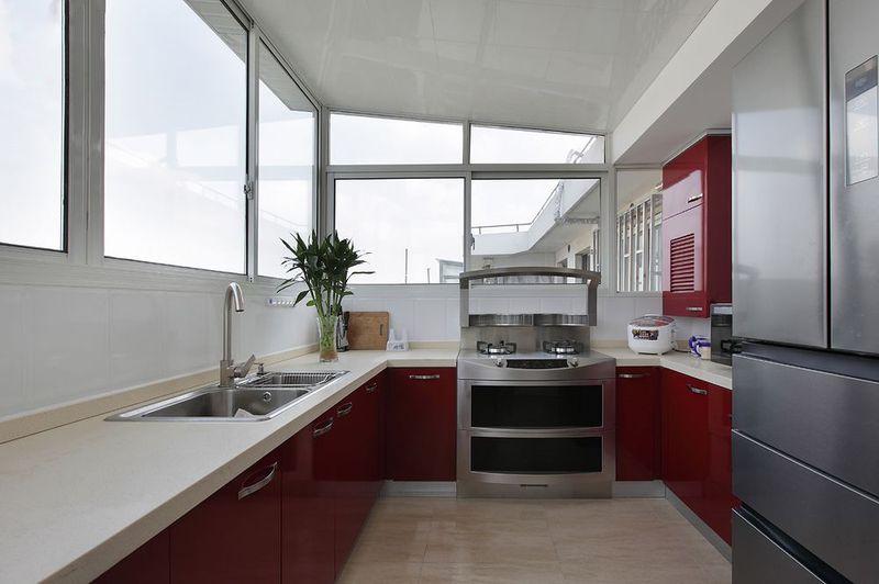 时尚现代风格设计厨房装修效果图