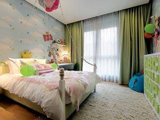 清新小可爱现代时尚设计家居儿童房装饰效果图