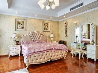 浪漫华贵中西混搭卧室装饰效果图