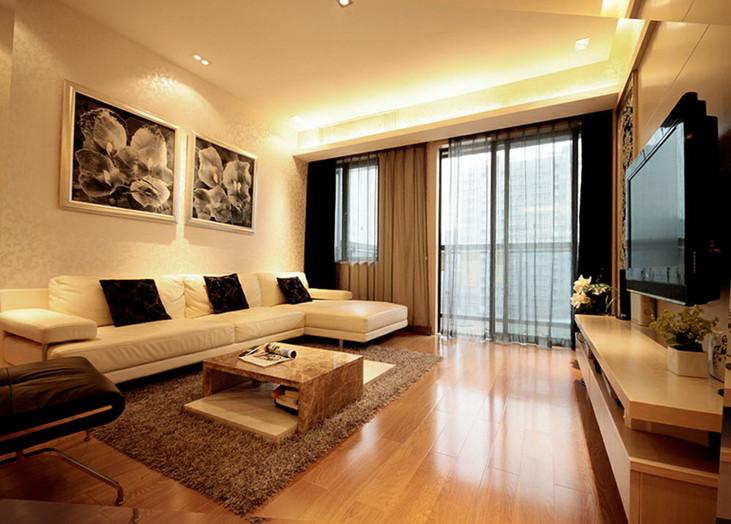 简洁美观之现代简约客厅
