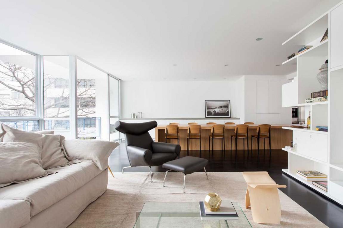 小清新现代风格家装客厅局部图