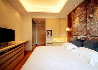 干净利落的现代简约卧室