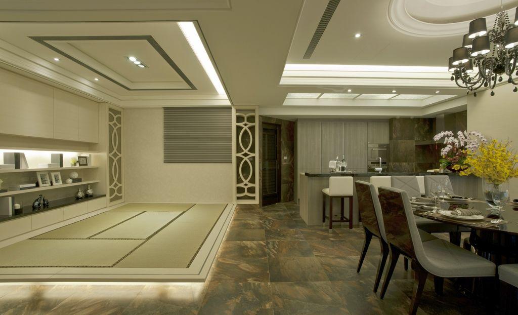 古典二居室家装客厅图片