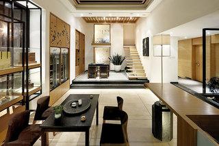 经典日式风格客厅装修效果图