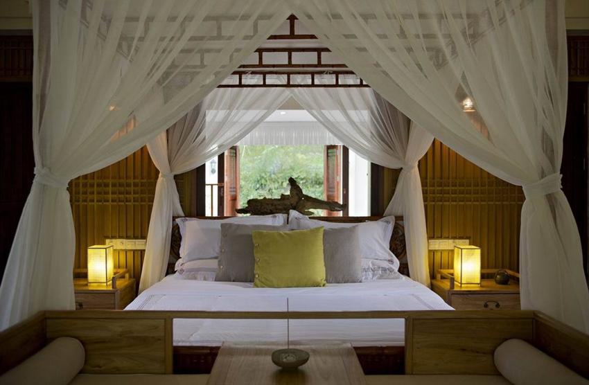 竹林生态中式风格主卧室效果图