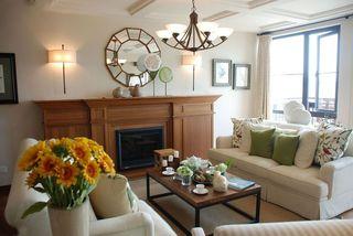 色彩明亮又丰富的地中海客厅效果图