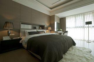 现代化的新古典风格主卧室效果图