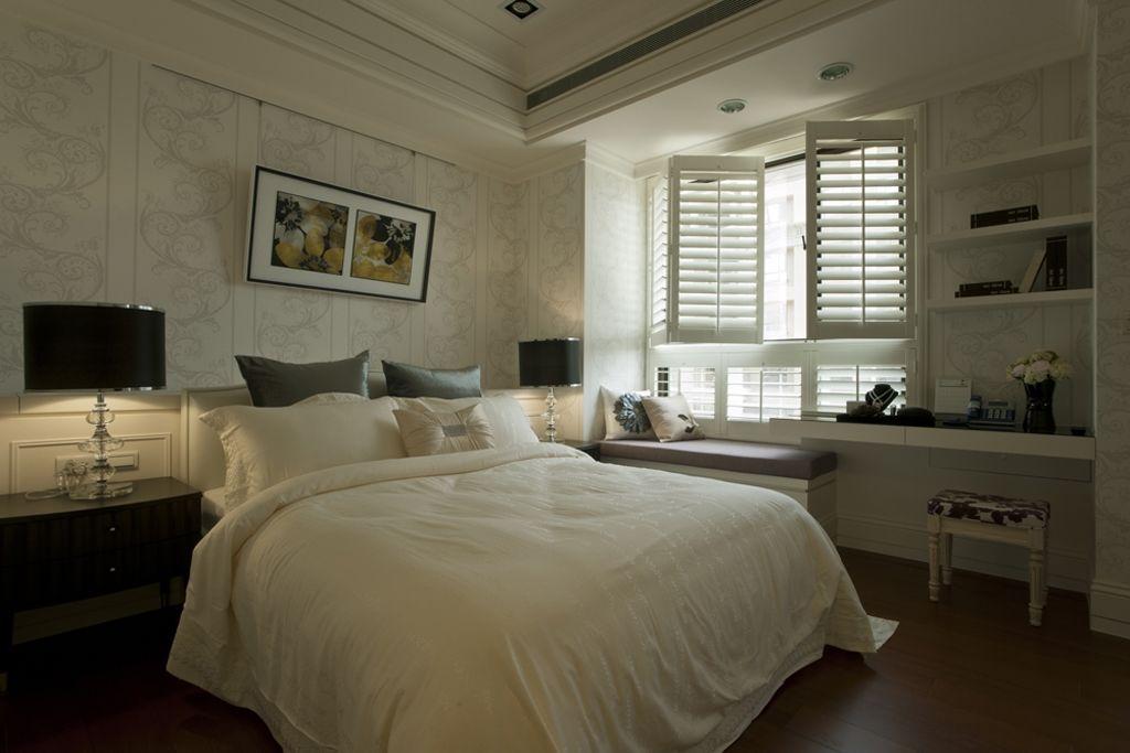 黛丽四居室现代风格家装客房效果图