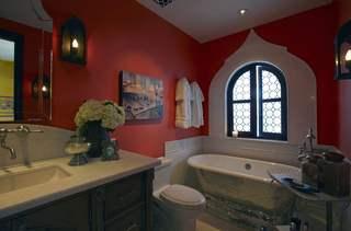异域风情精美窗户卫生间效果图