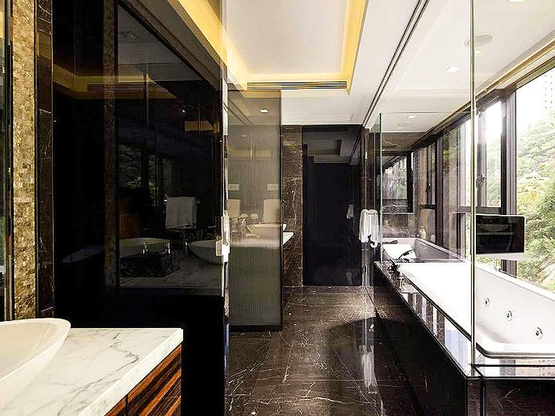 奢华后现代洗手间效果图