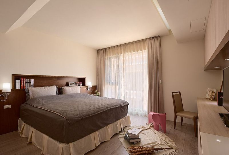 时尚通透现代风卧室装修效果图